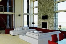 Modern Interior - Family Room Plan #542-1
