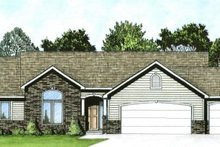 Home Plan - Traditional Exterior - Front Elevation Plan #58-179