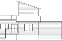 Dream House Plan - Modern Exterior - Rear Elevation Plan #23-2719