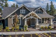 Craftsman Style House Plan - 3 Beds 2 Baths 1715 Sq/Ft Plan #895-58 Exterior - Other Elevation