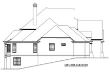 House Design - European Exterior - Other Elevation Plan #54-163