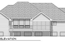 Architectural House Design - Traditional Exterior - Rear Elevation Plan #70-759