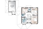 Victorian Style House Plan - 3 Beds 2.5 Baths 1936 Sq/Ft Plan #23-749 Floor Plan - Upper Floor