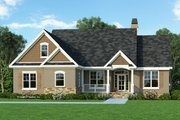 Craftsman Style House Plan - 3 Beds 2 Baths 1473 Sq/Ft Plan #929-428 Exterior - Front Elevation