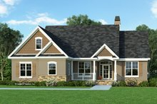 Architectural House Design - Craftsman Exterior - Front Elevation Plan #929-428