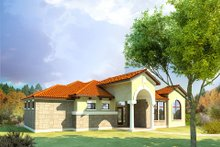 Home Plan - Mediterranean Exterior - Other Elevation Plan #80-165
