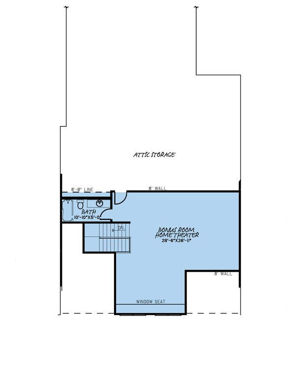 Dream House Plan - Farmhouse Floor Plan - Upper Floor Plan #923-174