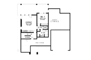 Contemporary Style House Plan - 5 Beds 3.5 Baths 3261 Sq/Ft Plan #48-1013 Floor Plan - Lower Floor