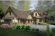 Craftsman Style House Plan - 4 Beds 4 Baths 3069 Sq/Ft Plan #120-178 Exterior - Other Elevation