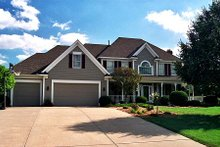 Dream House Plan - Traditional Exterior - Front Elevation Plan #51-360