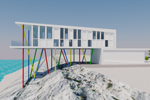 Contemporary Exterior - Other Elevation Plan #542-21