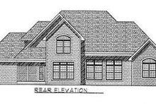 Traditional Exterior - Rear Elevation Plan #70-476