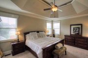 Craftsman Style House Plan - 4 Beds 3 Baths 2644 Sq/Ft Plan #927-25 Interior - Master Bedroom