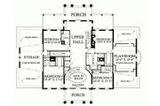 Classical Style House Plan - 5 Beds 6 Baths 10735 Sq/Ft Plan #137-211