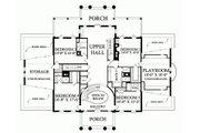 Classical Style House Plan - 5 Beds 6 Baths 10735 Sq/Ft Plan #137-211 Floor Plan - Upper Floor Plan