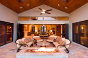 Mediterranean Style House Plan - 4 Beds 4.5 Baths 4730 Sq/Ft Plan #548-2 Exterior - Outdoor Living