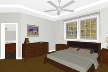 Dream House Plan - Farmhouse Interior - Master Bedroom Plan #126-187