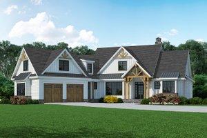 Farmhouse Exterior - Front Elevation Plan #929-1128