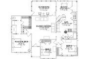 Traditional Style House Plan - 3 Beds 2 Baths 1653 Sq/Ft Plan #63-317 Floor Plan - Main Floor Plan