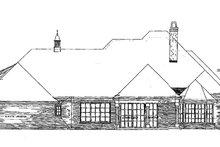 Dream House Plan - European Exterior - Rear Elevation Plan #310-281