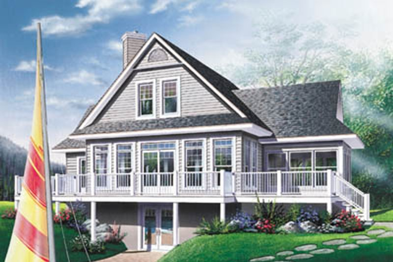 Traditional Exterior - Front Elevation Plan #23-2067 - Houseplans.com