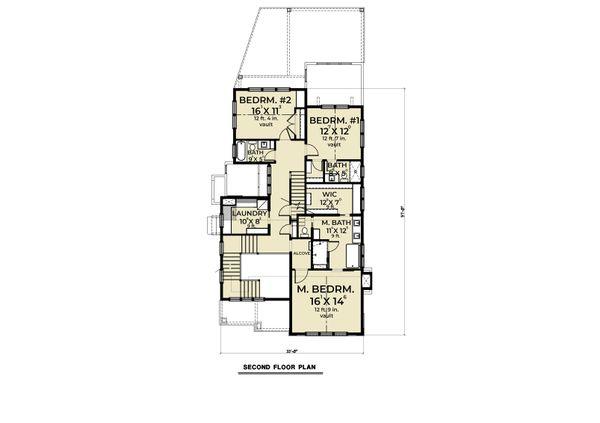 Dream House Plan - Farmhouse Floor Plan - Upper Floor Plan #1070-112