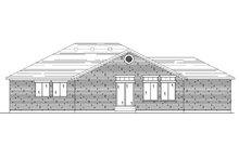 Ranch Exterior - Rear Elevation Plan #5-232