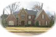 European Style House Plan - 6 Beds 4 Baths 8232 Sq/Ft Plan #81-1350 Exterior - Front Elevation