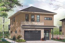 House Plan Design - Modern Exterior - Front Elevation Plan #23-2710