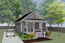 Cottage Exterior - Front Elevation Plan #79-102
