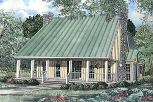 Traditional Exterior - Front Elevation Plan #17-223