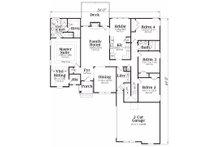 Traditional Floor Plan - Main Floor Plan Plan #419-112