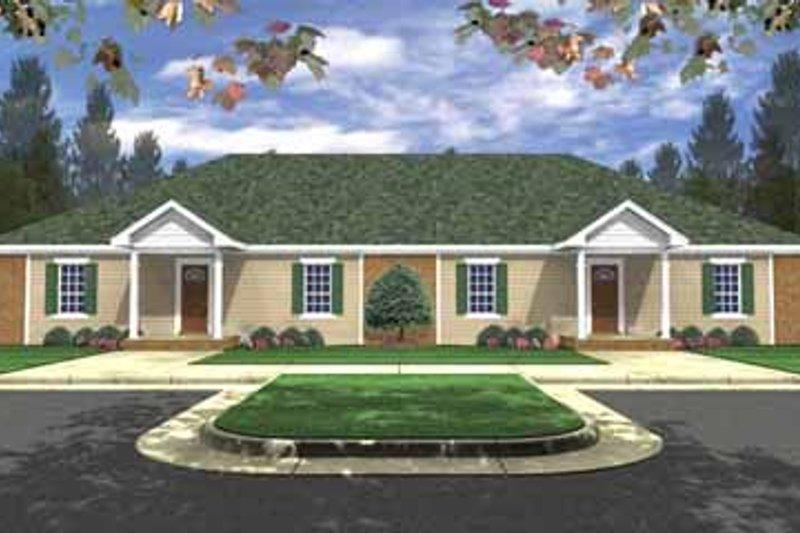 House Plan Design - Ranch Exterior - Front Elevation Plan #21-138