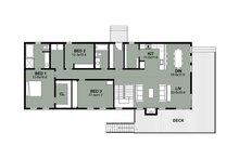 Beach Floor Plan - Main Floor Plan Plan #497-1