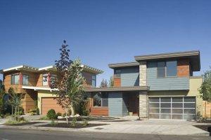 Home Plan Design - Modern Exterior - Front Elevation Plan #48-530