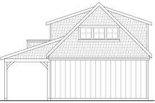 House Plan Design - Craftsman Exterior - Rear Elevation Plan #124-961