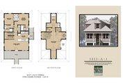 Beach Style House Plan - 3 Beds 3 Baths 1413 Sq/Ft Plan #536-1