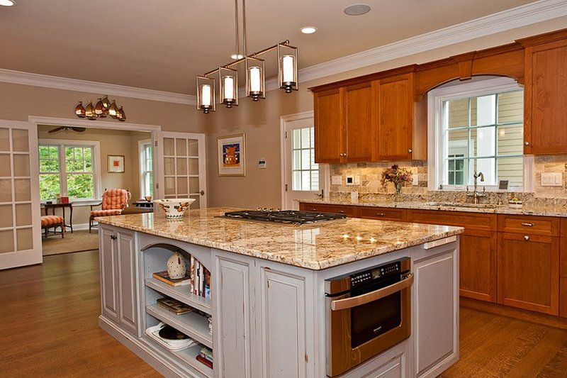 Kitchen - 3500 square foot Country Home
