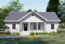 Home Plan - Cottage Exterior - Front Elevation Plan #44-247