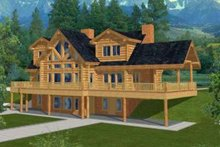 House Plan Design - Traditional Exterior - Front Elevation Plan #117-313