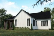 Craftsman Style House Plan - 4 Beds 2 Baths 1953 Sq/Ft Plan #23-2745