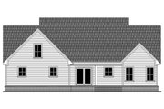 Farmhouse Style House Plan - 3 Beds 2.5 Baths 2107 Sq/Ft Plan #21-442 Exterior - Rear Elevation