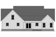 House Plan Design - Farmhouse Exterior - Rear Elevation Plan #21-442