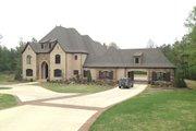 European Style House Plan - 3 Beds 4.5 Baths 4380 Sq/Ft Plan #17-2506