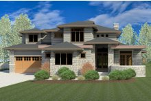 Contemporary Exterior - Front Elevation Plan #920-85