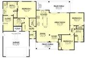 Farmhouse Style House Plan - 3 Beds 2.5 Baths 2020 Sq/Ft Plan #430-245 Floor Plan - Main Floor