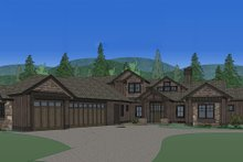 Dream House Plan - Front Rendering