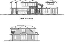 Modern Exterior - Other Elevation Plan #1066-53