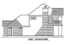 House Plan Design - Southern Exterior - Other Elevation Plan #17-2032