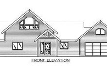 Dream House Plan - Contemporary Exterior - Other Elevation Plan #117-519